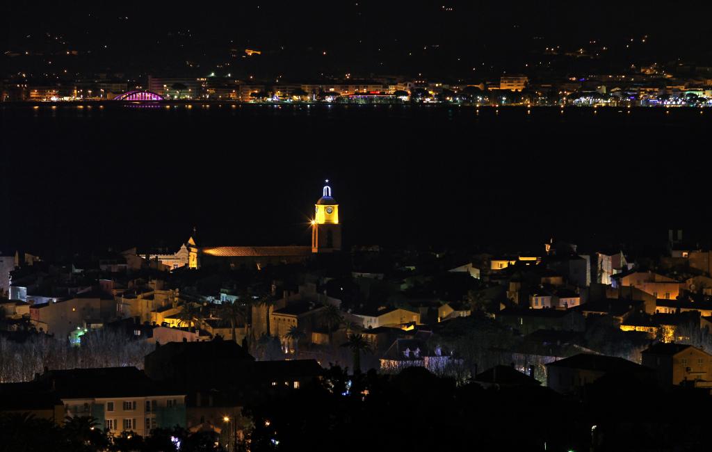 Saint-Tropez la nuit